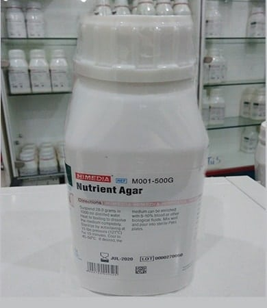 Môi trường vi sinh HIMEDIA Nutrient Agar M001