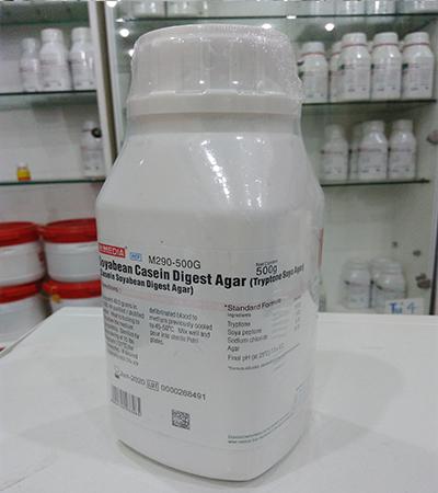 Môi trường vi sinh Soyabean Casein Digest Agar - Tryptone Soya Agar