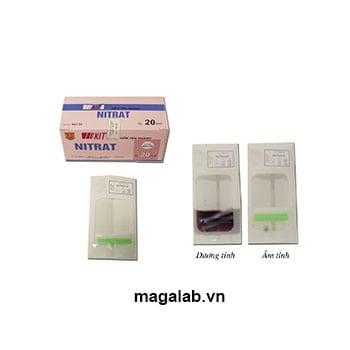 Kit kiểm tra Nitrat trong thực phẩm