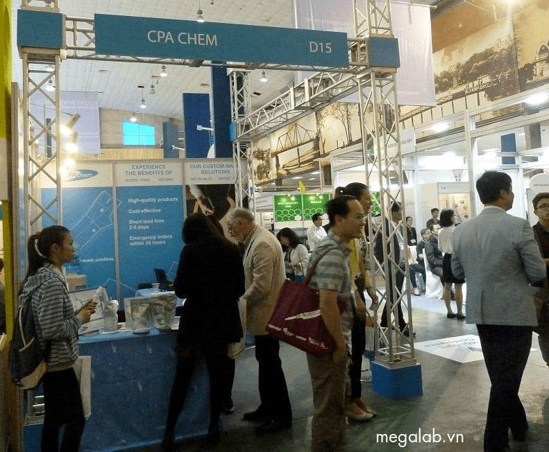 CPAchem tại Triển lãm Quốc tế về Hóa chất phân tích tại Việt Nam