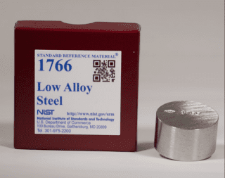 Mẫu chuẩn đối chiếu SRM Low Alloy Steel NIST 1763a