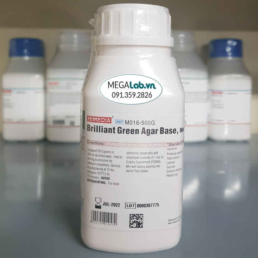 Brilliant Green Agar Base, Modified M016-500G