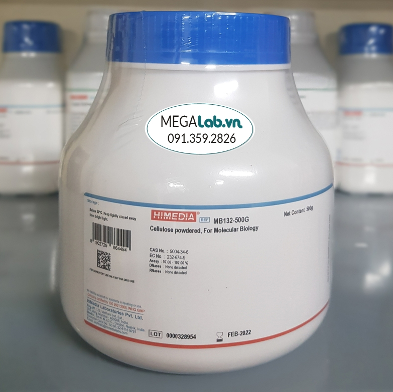 Cellulose powdered, For Molecular Biology MB132-500G