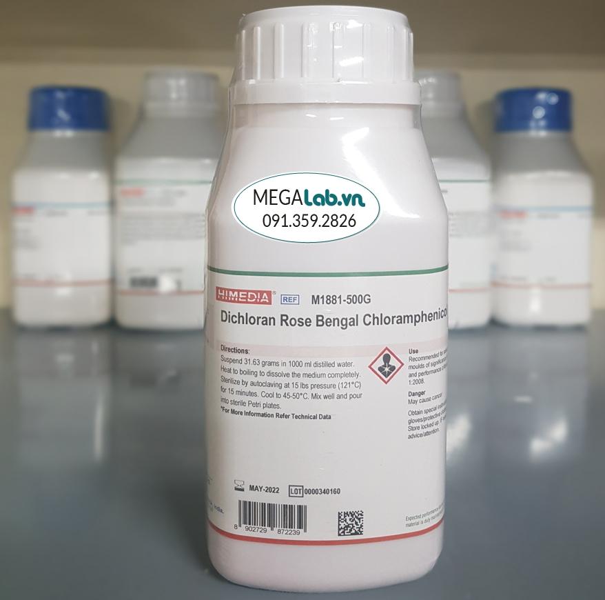 Dichloran Rose Bengal Chloramphenicol Agar (DRBC Agar) M1881-500G