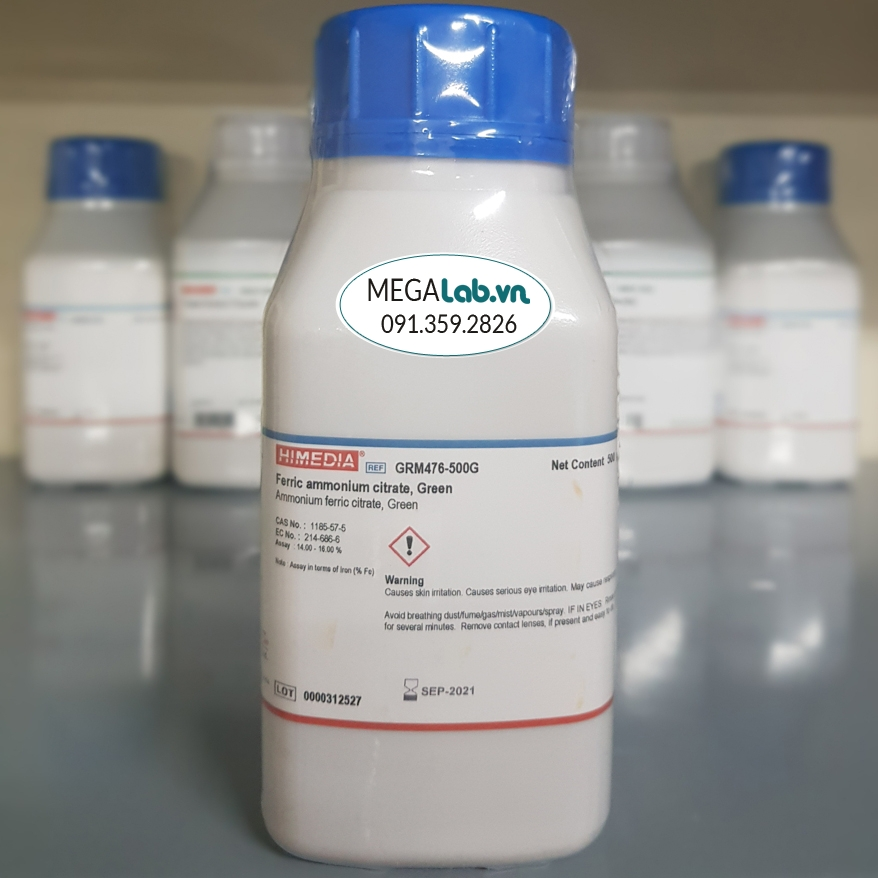 Ferric ammonium citrate, Green GRM476-500G