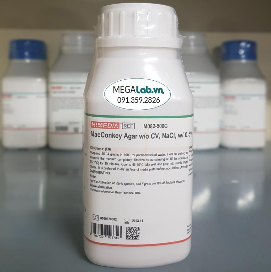 MacConkey Agar wo CV NaCl w 0.5% Sodium Taurocholate M082-500G