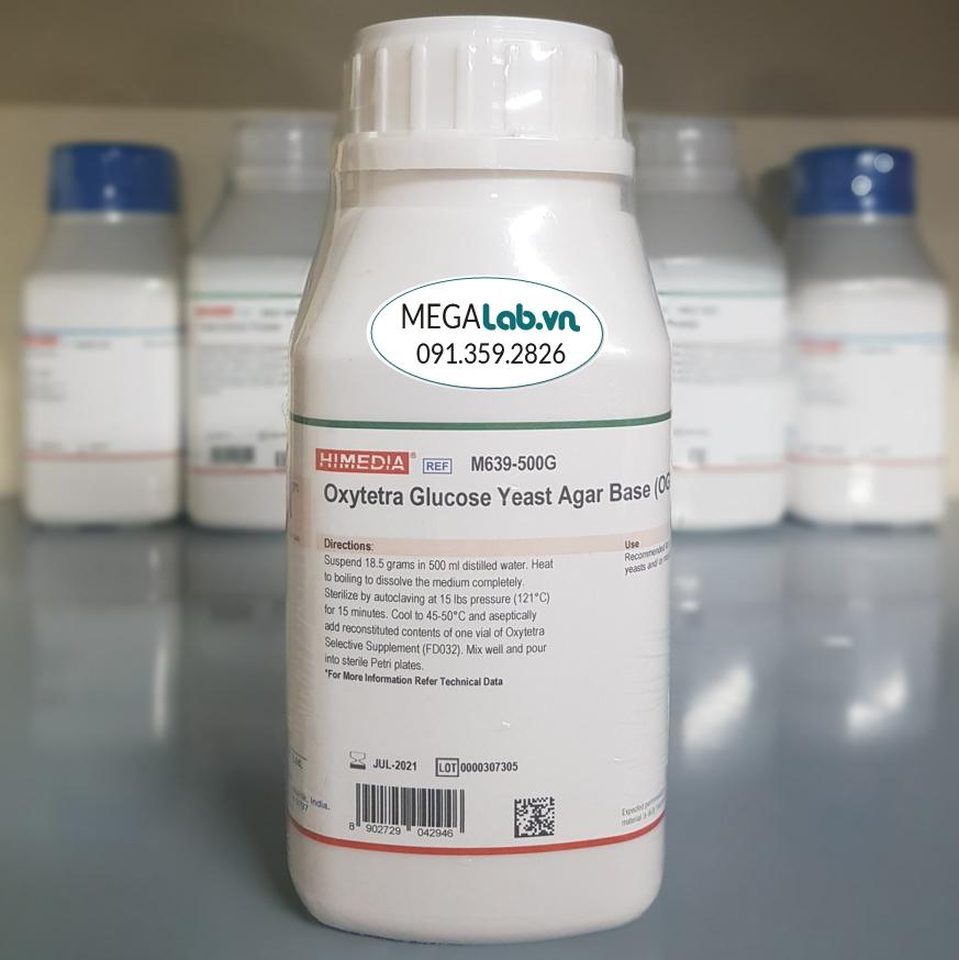 Oxytetra Glucose Yeast Agar Base (OGYE Agar Base) M639-500G