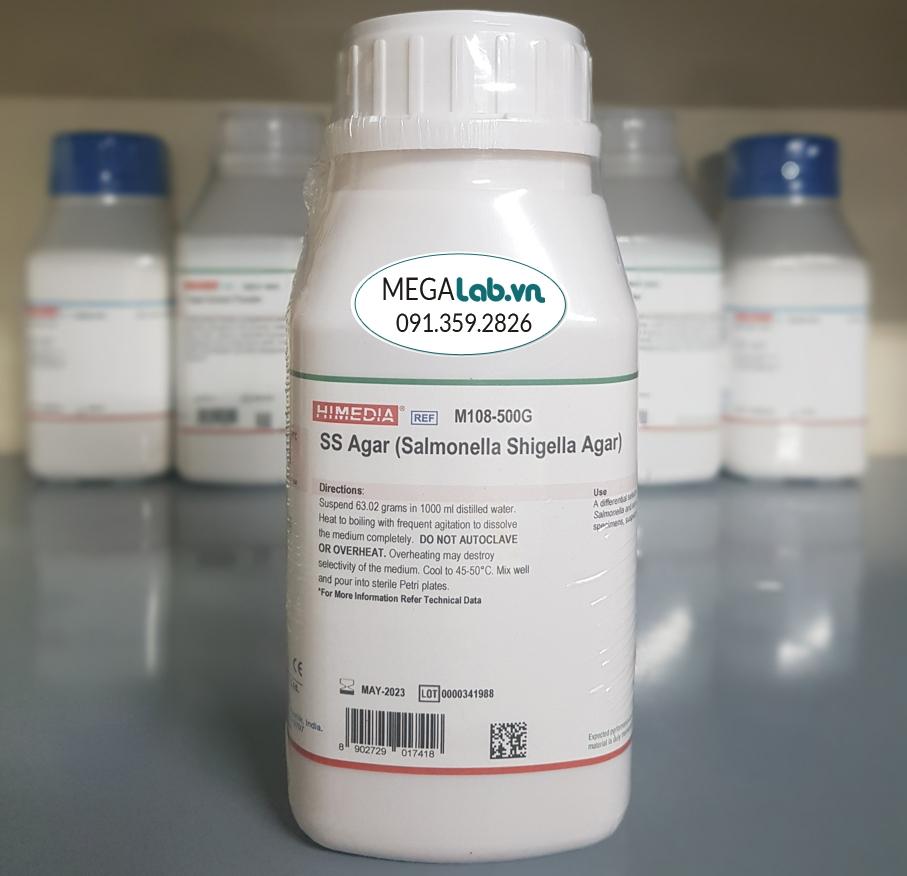 SS Agar (Salmonella Shigella Agar) M108-500G