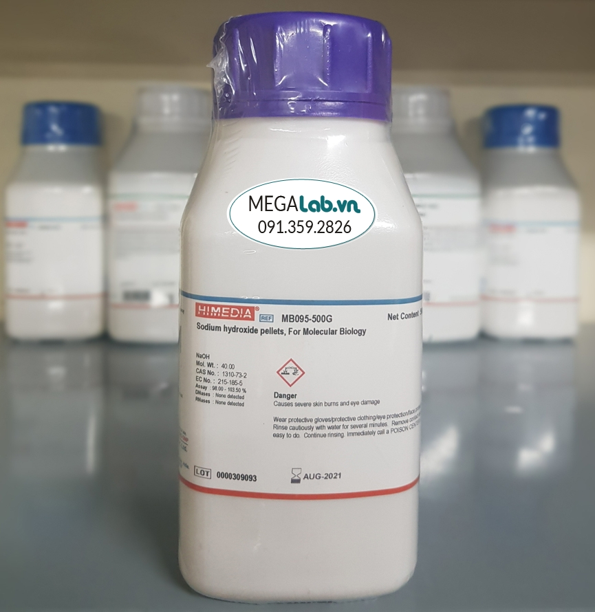 Sodium hydroxide, pellets, For Molecular Biology MB095-500G